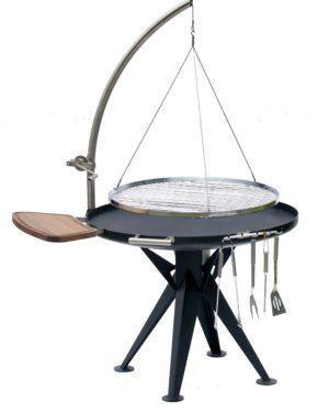 RVS barbecue Nielsen 800 met handlier