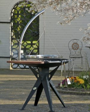 RVS barbecue Nielsen 600