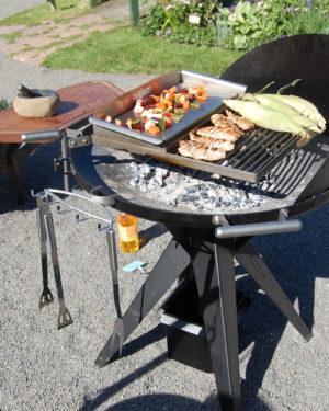 RVS barbecue Nielsen 1200 met handlier