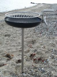 Nielsen strandbarbecue 400