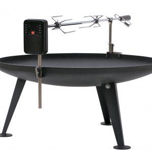 Barbecue spies met motor 600